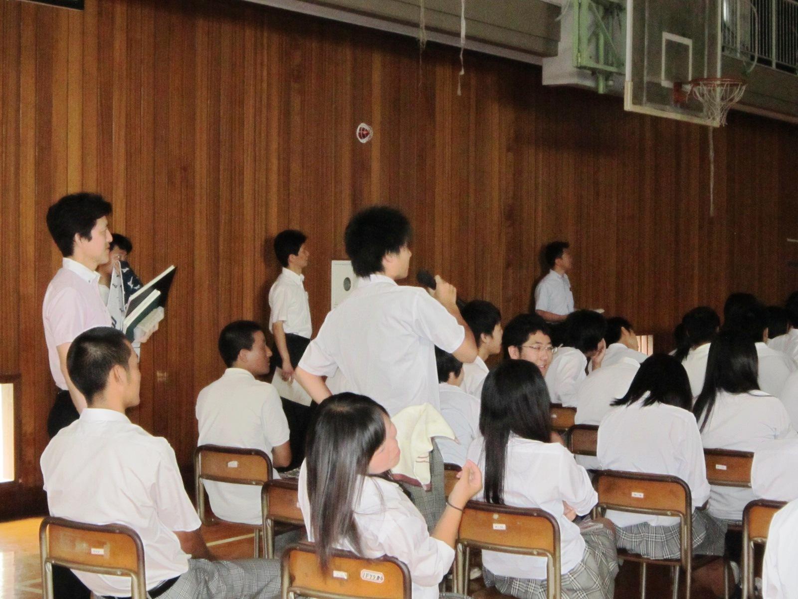 千葉県立流山北高等学校で「生き...