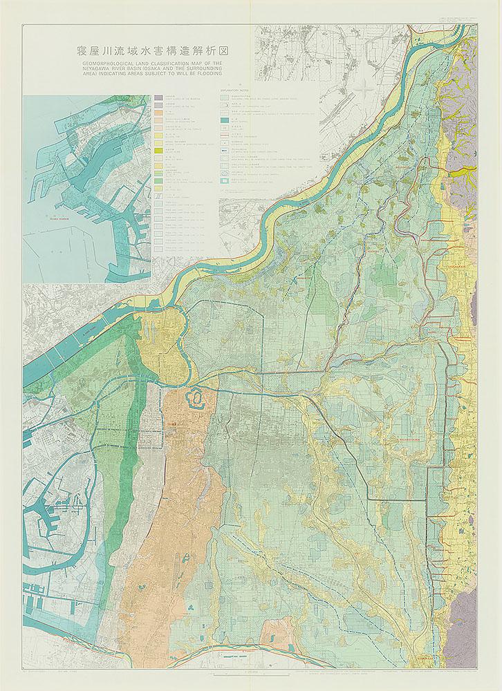 寝屋川流域水害構造解析図